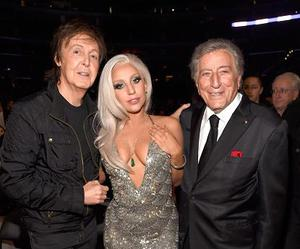 Lady gaga, Paul McCartney, and beauty image