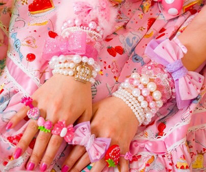 decora, jewelry, and lace image