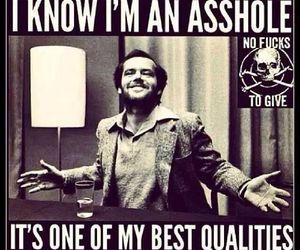 asshole, qualities, and funny image