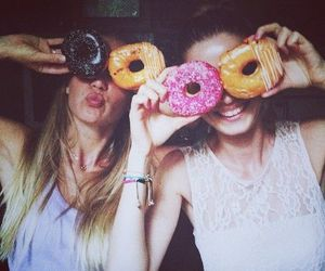 donuts, friends, and best friends image