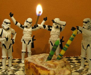 birthday, candle, and star wars image