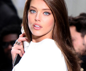 model, Emily Didonato, and eyes image