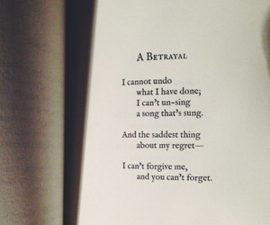 poem, quotes, and betrayal image