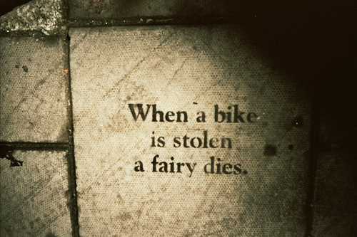 fairy, bike, and text image