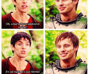 arthur, merlin, and bradley james image
