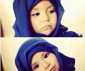 muslim, child, and hijab image