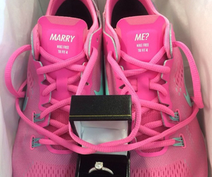pink, love, and nike image