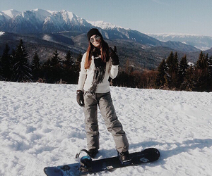fashion, mountain, and outfit image