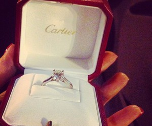beautiful, cartier, and ring image