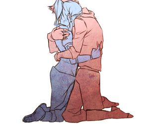avatar, blue, and cry image
