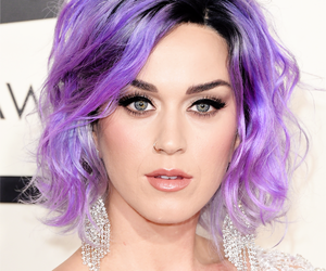 katy perry, hair, and purple image