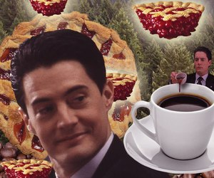 cooper, Twin Peaks, and cup of coffee image