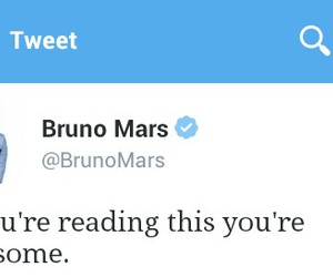 awesome, twitter, and bruno mars image