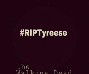 the walking dead and tyreese williams image
