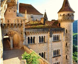 france, rocamadour, and castle image