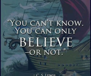 narnia, quote, and c.s. lewis image
