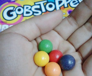 colorful, gobstopper, and hard image
