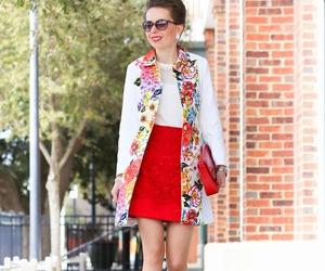 chic, spring, and street fashion image