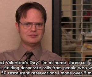 office and valentines day image