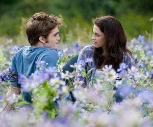 twilight, bella, and edward image