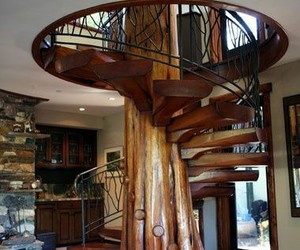 stairs and home image