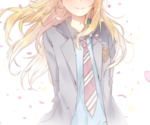 anime, shigatsu wa kimi no uso, and anime girl image