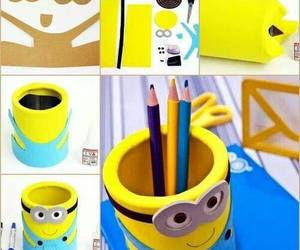 minions and diy image