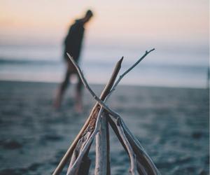 beach, sea, and photography image