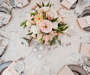 bouquet, detail, and table image