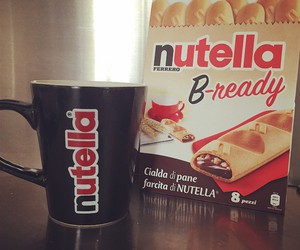 nutella, chocolate, and sweet image