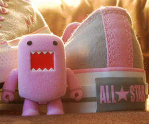 all star, pink, and converse image