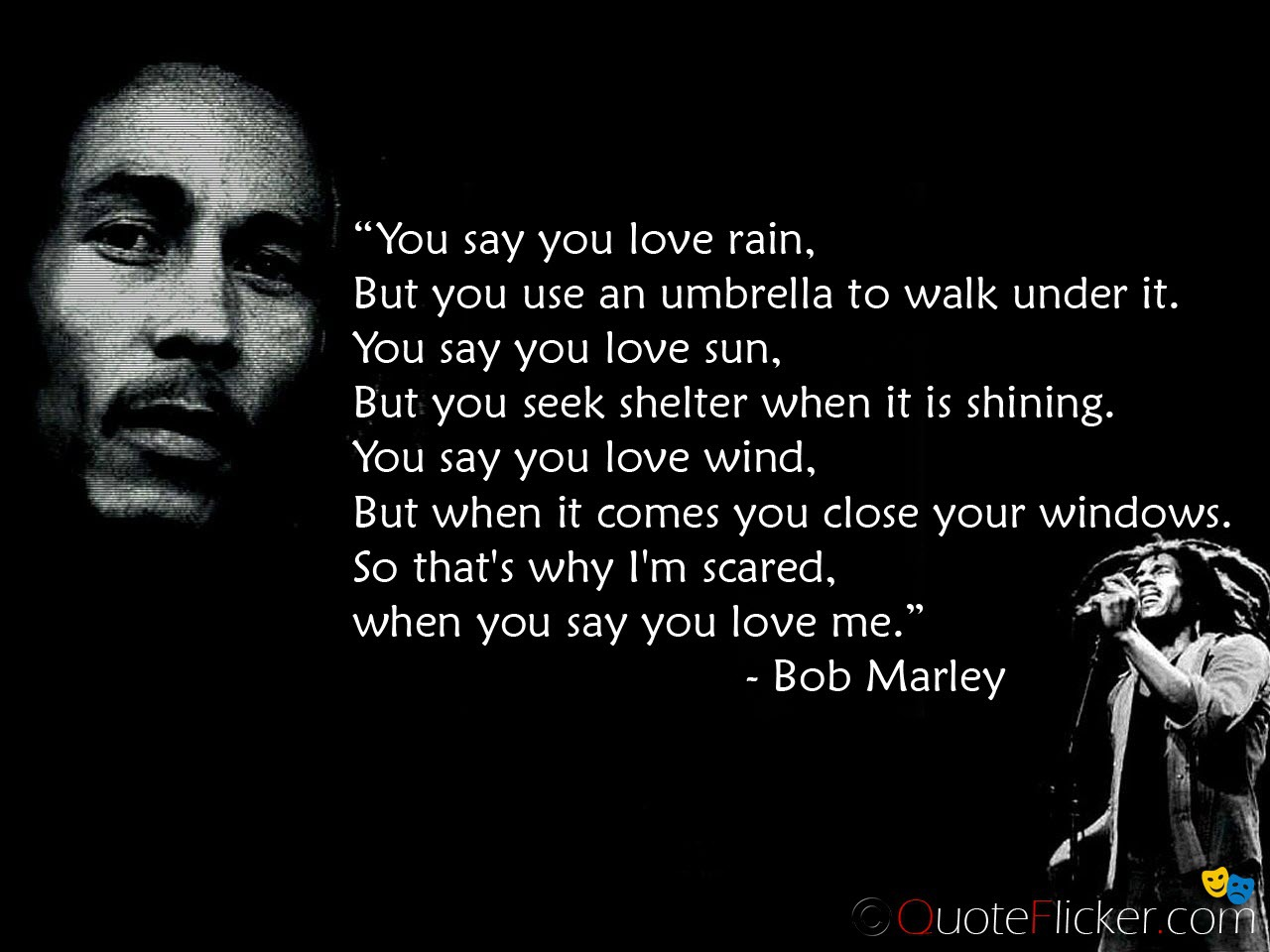 Bob Marley Quotes One Love One Heart One Destiny Quotes