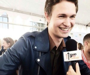 ansel elgort, smile, and ansel image