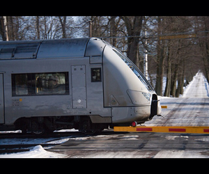 sweden, train, and photograph image
