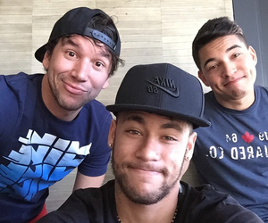 neymar, neymar jr, and boy image
