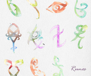 runes, the mortal instruments, and tmi image