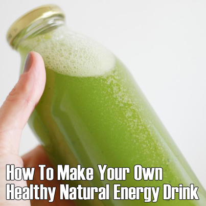 energy drink, homemade, and health tips image