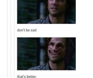sam winchester and supernatural image