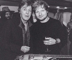 ed sheeran and Paul McCartney image