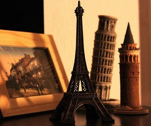 paris, eiffel tower, and italy image