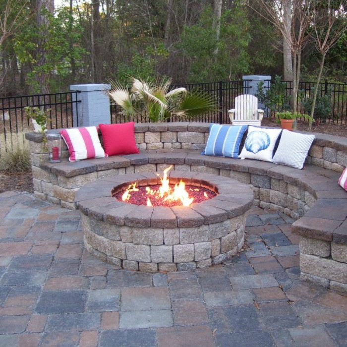 Remarkable Gas Fire Pit Design Ideas For Lowe S Pits