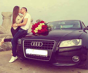 love, audi, and kiss image