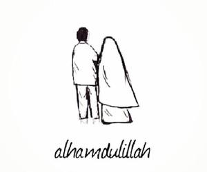 alhamdulillah, islam, and muslim image