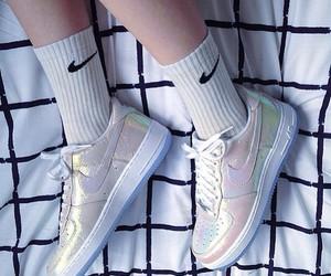 nike, grunge, and shoes image