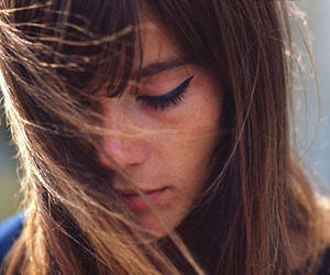 girl, francoise hardy, and 60s image