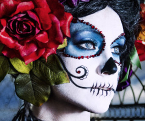 skulls and diadelosmuertos image