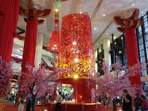 Attractive Chinese New Year Decor For Shopping Mall for