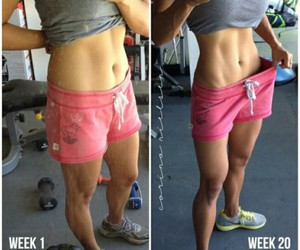 after, before, and fitness image