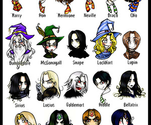 harry potter and character image