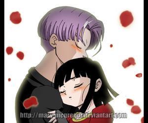 couple, pan, and trunks image